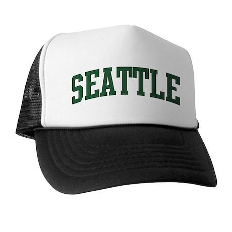 Seattle (green) Trucker Hat