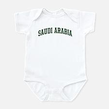 Saudi Arabia (green) Infant Bodysuit