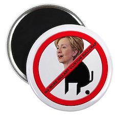 No Hillary Clinton Bullcrap Magnet
