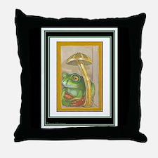 T. Meritous Toad Throw Pillow