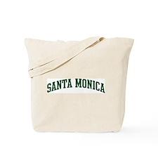 Santa Monica (green) Tote Bag