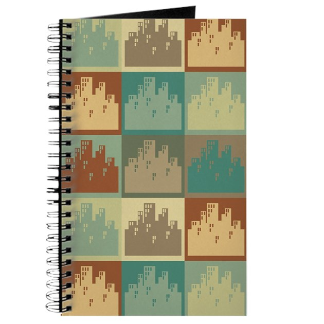 Urban Planning Pop Art Journal By Allpopart