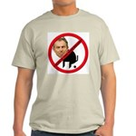 No Tony Blair Bullcrap Ash Grey T-Shirt