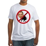 No Tony Blair Bullcrap Fitted T-Shirt