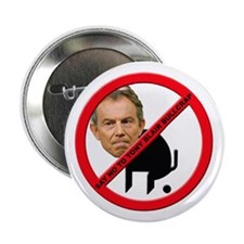 "No Tony Blair Bullcrap 2.25"" Button (10 pack)"