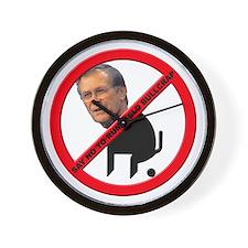 No Donald Rumsfeld Bullcrap Wall Clock
