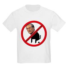 No Donald Rumsfeld Bullcrap Kids T-Shirt