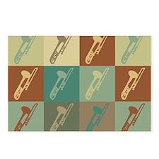 Trombone Pop Art Postcards (Package of 8)
