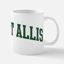 West Allis (green) Mug