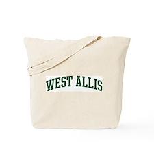 West Allis (green) Tote Bag