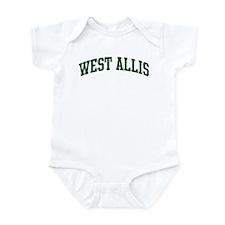 West Allis (green) Infant Bodysuit