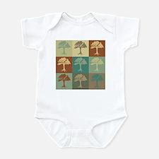 Trees Pop Art Infant Bodysuit