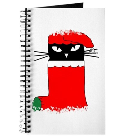 CHRISTMAS KITTY Journal