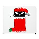 CHRISTMAS KITTY Mousepad