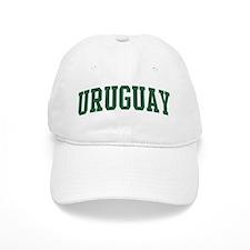 Uruguay (green) Baseball Cap