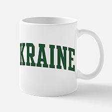 Ukraine (green) Mug