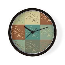 Theater Pop Art Wall Clock