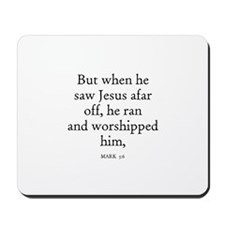 MARK  5:6 Mousepad