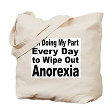 Anorexia Anti Diet Tote Bag