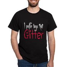 Prefer boys that Glitter T-Shirt