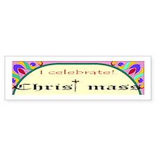 Christ mass Bumper Bumper Sticker