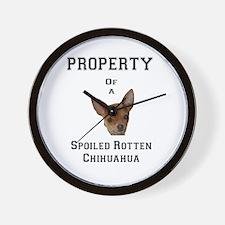 Unique Spoiled rotten Wall Clock