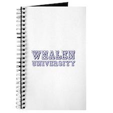 Whalen last Name University Journal