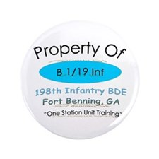 """Prop of B 1/19 3.5"""" Button"""