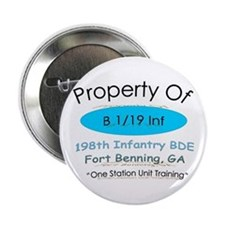 """Prop of B 1/19 2.25"""" Button"""