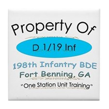 Prop of D 1/19 Tile Coaster