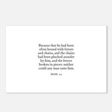 MARK  5:4 Postcards (Package of 8)