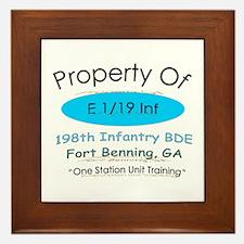 Prop of E 1/19 Framed Tile