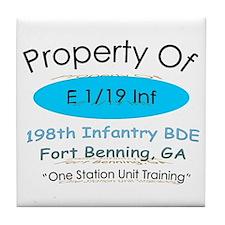 Prop of E 1/19 Tile Coaster
