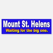 Mount St. Helens Bumper Bumper Bumper Sticker