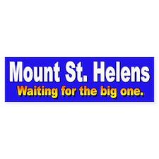 Mount St. Helens Bumper Car Car Sticker