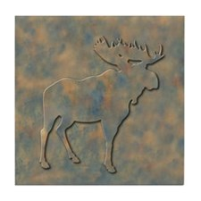 Moose Tile Coaster