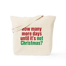 Not Christmas Tote Bag