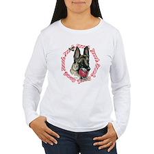 German Shepherd Xmas T-Shirt