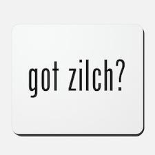 got zilch? Mousepad
