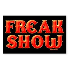FREAK SHOW Decal