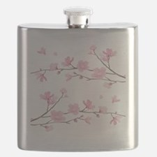 Cute Cherry tree Flask