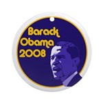 Barack Obama Christmas Ornament