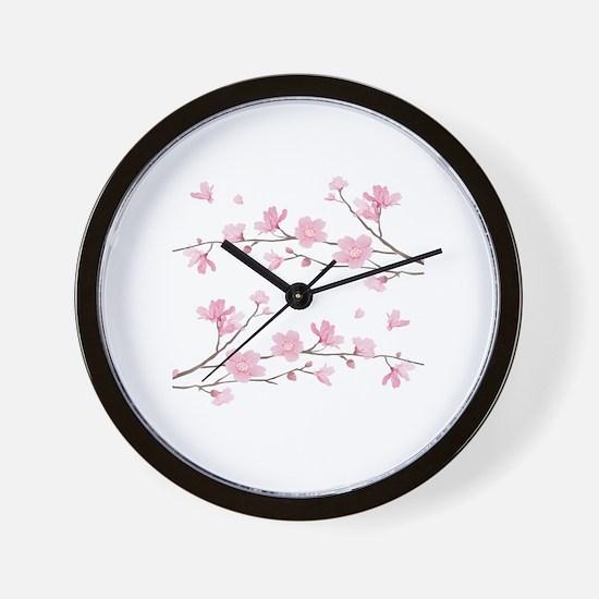 Unique Cherry Wall Clock