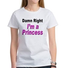 Damn Right Princess (Front) Tee