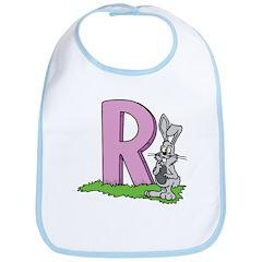 R is for Rabbit Bib