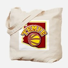 Tempe Basketball Tote Bag