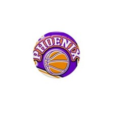 Phoenix Basketball Mini Button