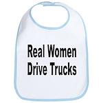 Real Women Drive Trucks Bib