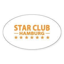 Star Club Hamburg Oval Decal