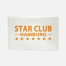 Star Club Hamburg Rectangle Magnet